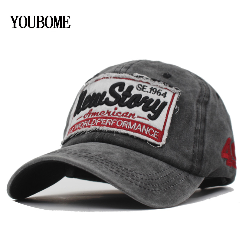 YOUBOME New   Baseball     Cap   Women Men Brand Snapback   Caps   Hats For Men Trucker Mashed Cotton Embroidery Casquette Bone MaLe Dad   Cap