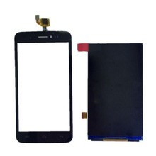 "5"" Black High Quality Front Touch Screen Digitizer Panel Sensor Glass Lens +LCD Replacement For Wiko Lenny"