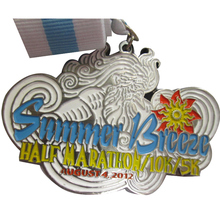 Quality Excellence Customized Silver Medal Personality 3D Plating Metal