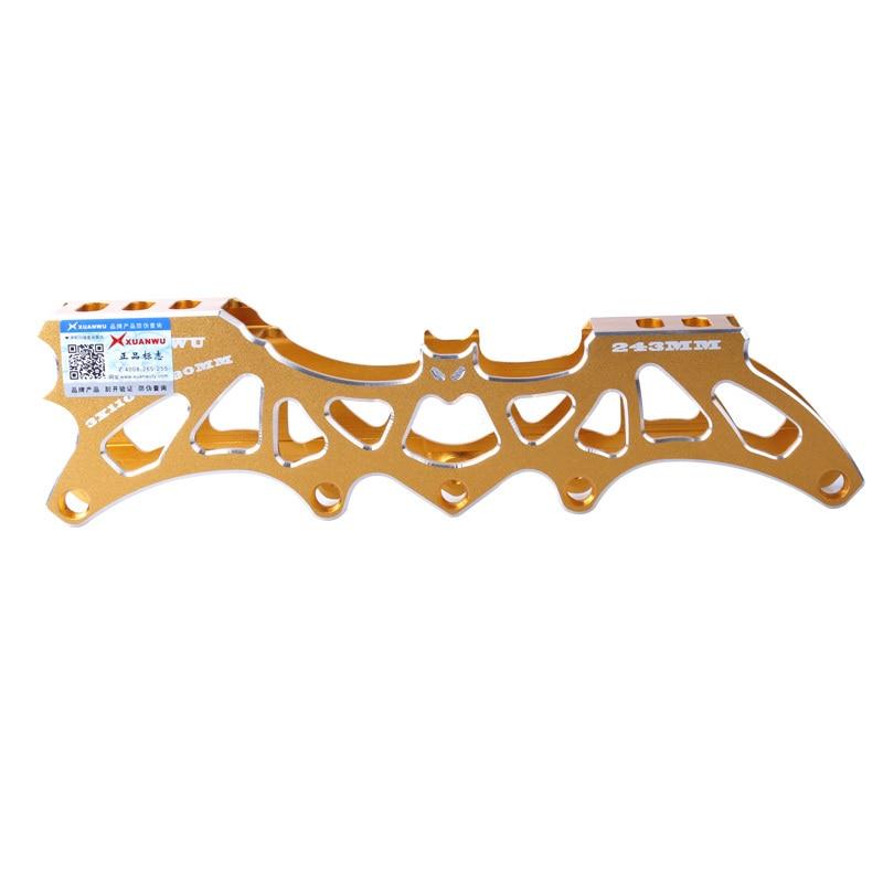 Prix pour Batman 3ème Inline Skate Cadres 4*80mm ou 3*110mm Roues Réglable 231mm 243mm de patinage Base Sélective Patins à roulettes Bassin