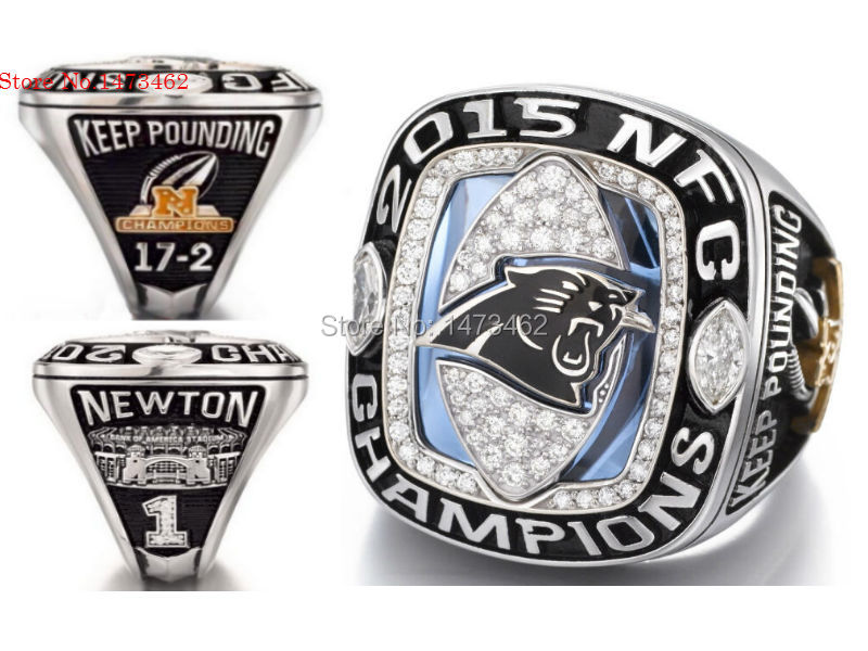 carolina panthers ring for women
