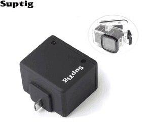 Image 3 - Suptig 移動プロ 4 セッション電源拡張バッテリー 1050 mah バッテリー Hero4 セッション防水ケースハウジングの Gopro アクセサリー