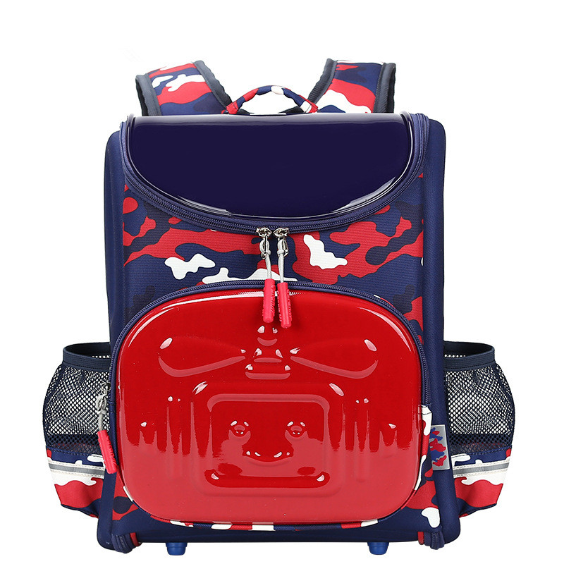 ФОТО 2016 New Arrival Nylon Backpack Unisex Character Softback School Bags Silt Pocket Cartoon Soft Handle Embossing Kpop Mochilas
