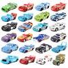 Samochody samochody Disney Pixar 3 samochody 2 Mater Huston Jackson Storm Ramirez 1:55 odlewane modele ze stopu metalu chłopcy dzieci zabawki urodziny prezent