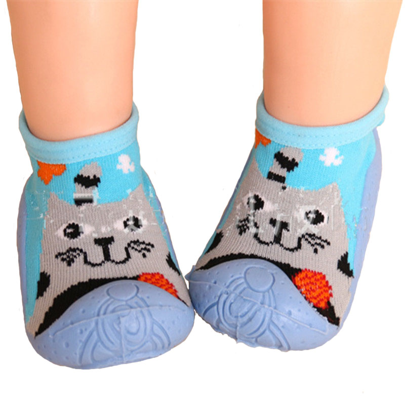 Toddler Shoes Soft Bottom Baby Socks Rubber
