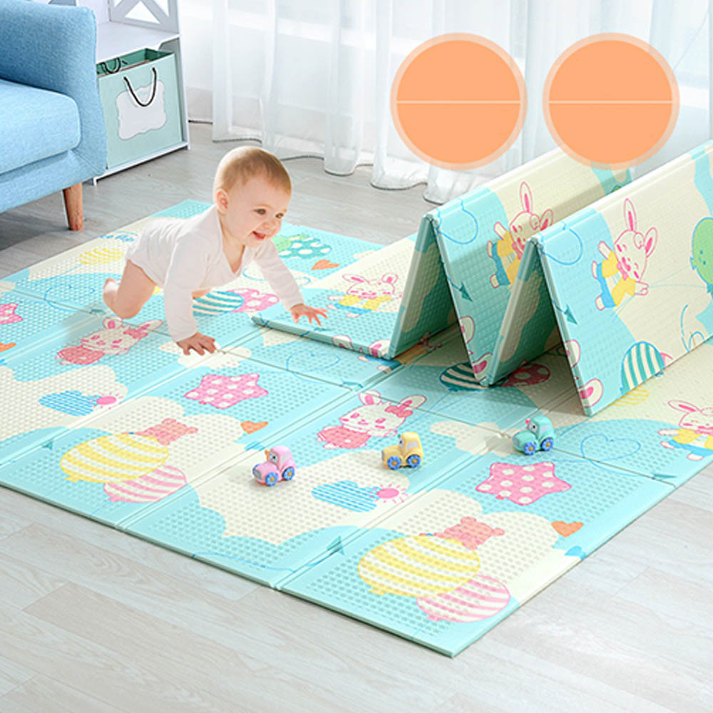 197*148*1cm Puzzle Mat Thickened Baby Room Crawling Pad Folding Baby Play Mat Baby Mat For Children Game Pad