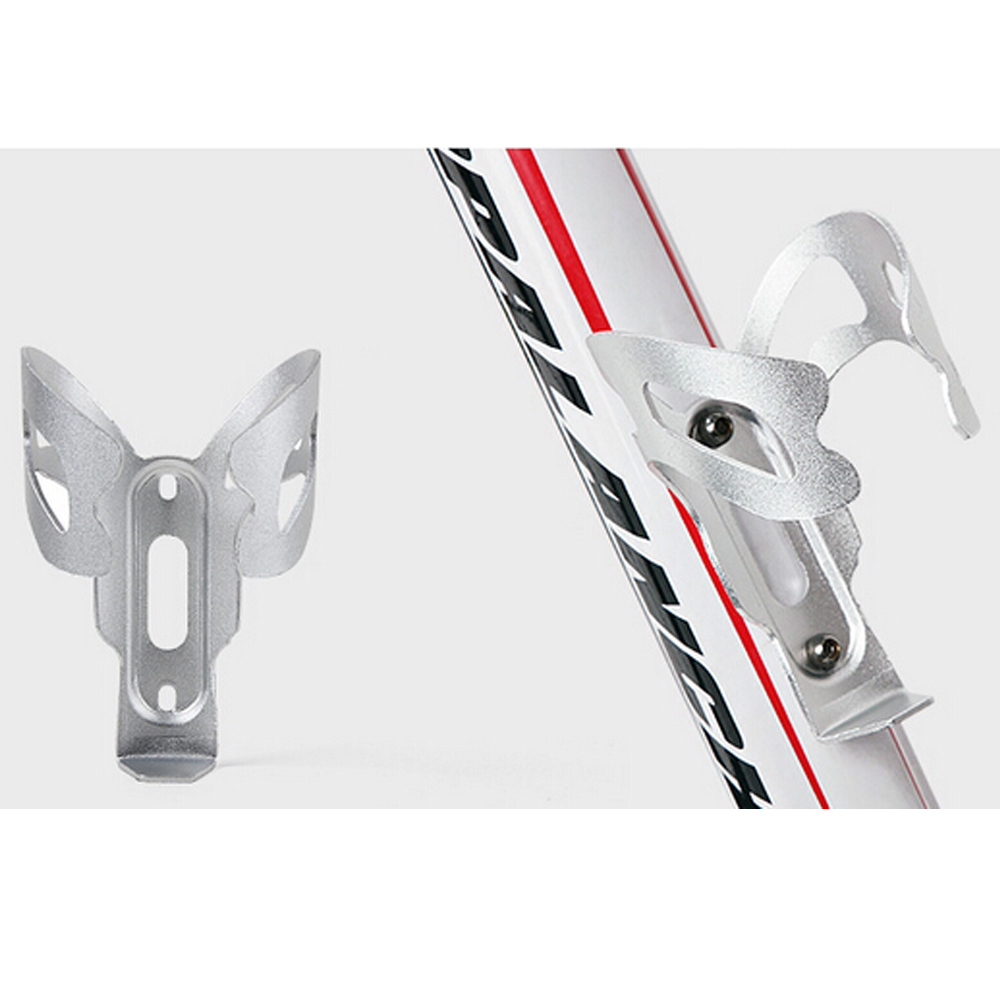 Bicycle Aluminum Alloy Water Bottle Cage Holder MTB Bike Portable Ultralight Cycling Holder Rack