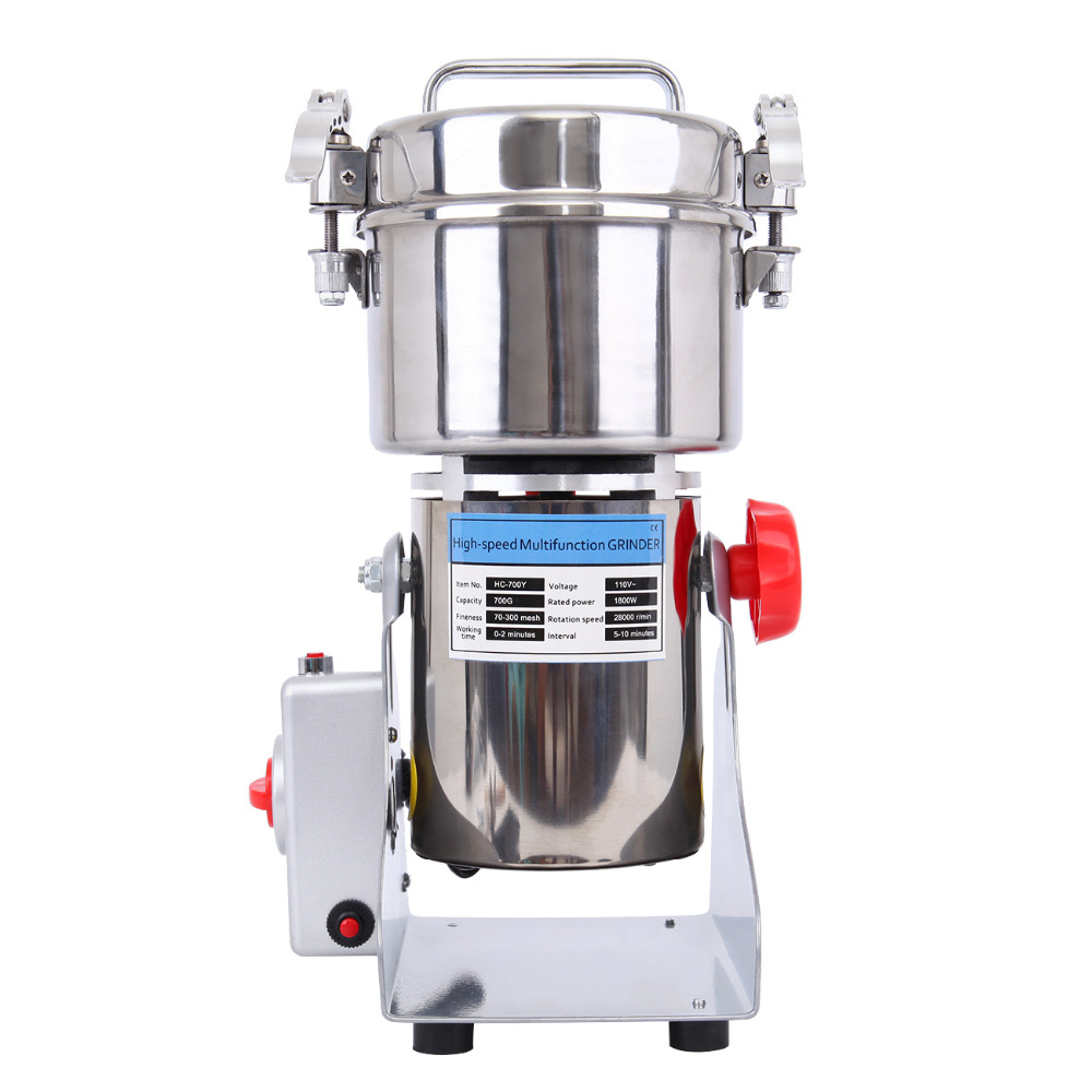Abrasive Tools United 700g High Speed Electric Herb Grain Grinder Cereal Mill Flour Powder Machine