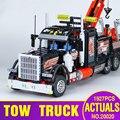 Lepin 20020 Technic Serie Ultimate La Mecánica Americana de Contenedores Pesados Camiones Blcoks construcción Ladrillos Juguetes 8258