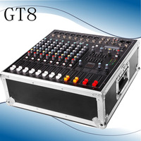 500W+500W Stage performance with amplifier mixer air box mixer with amplifier one machine GT8