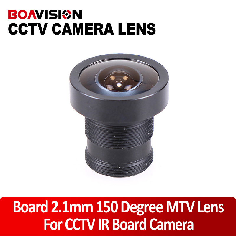 MTV Lens 2.1mm Monofocal Fixed Iris Board Mount Lens /CCTV Lens cs 8mm cctv camera lens fixed iris monofocal alloy with nail