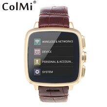 ColMi VS92 Smart Uhr Android OS V4.4.2 MTK6572 Unterstützung WiFi GPS 4G + 512 MB Speicher 3G Passometer Push-nachricht Smartwatch
