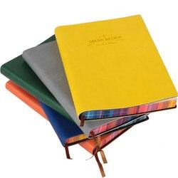 Deli Trends блокноты для офиса канцелярские кожаные обложки мягкие блокноты для подарка 112 листов дневник офисные принадлежности