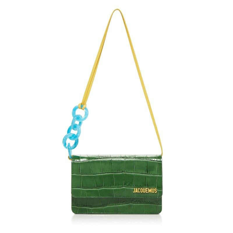 Alligator femmes sac dames sacs à main femmes sacs marque Designers 2018 femmes sacs sacs à main sacs à bandoulière en polyuréthane - 5