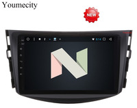 Youmecity Новинка!! Android 7.1 dvd-плеер для Toyota RAV4 RAV 4 2007 2008 2009 2010 2011 2 DIN 1024*600 автомобиль DVD GPS Wi-Fi RDS