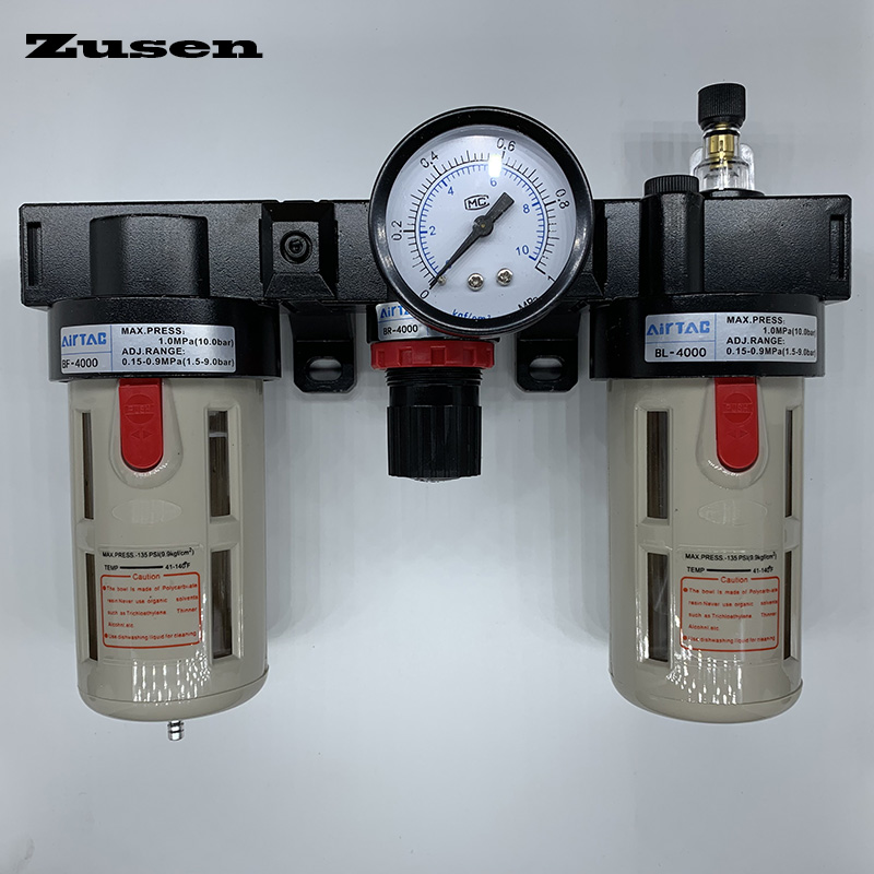 Air Source Processor Oil Water Separator for Pneumatic System 5-60℃ BF-3000 3//8inch
