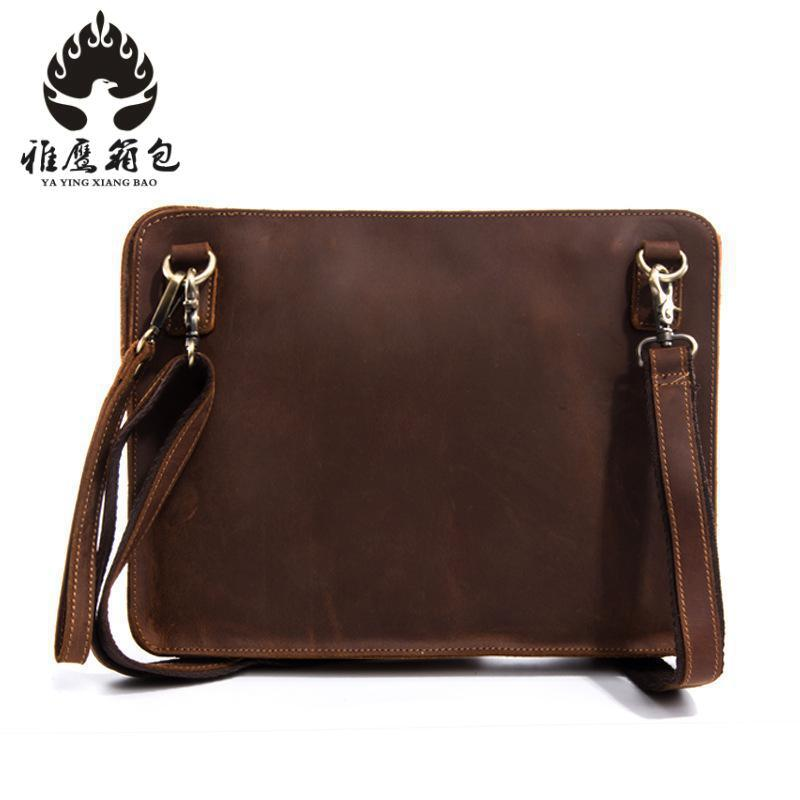 New Collection 2018 Fashion Men Bags, Men Casual Leather Messenger Bag, High Quality Man Brand Business Bag Men's Handbag