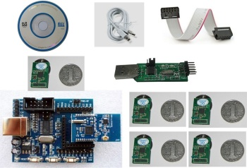 For RFID real-time positioning system development kit RTLS radio frequency sensing