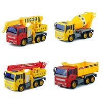 4pcs ABS Plastic Mini Diecast Engineering Car Model Construction Vehicle Classic Toy for Children Collection Gift