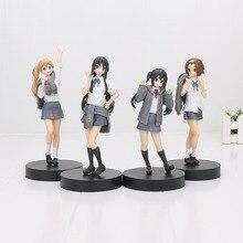 K on! Hirasawa Yui Akiyama Mio Tainaka Ritsu Kotobuki Tsumugi Nakano Azusa 5th anniversaire PVC figurine modèle jouets
