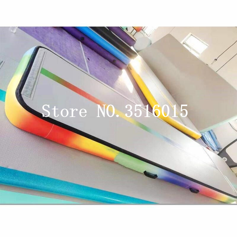 Free Shipping High Quality 3*1*0.1m Inflatable Tumble Track Trampoline Air Track Gymnastics Inflatable Air Mat Free A PumpFree Shipping High Quality 3*1*0.1m Inflatable Tumble Track Trampoline Air Track Gymnastics Inflatable Air Mat Free A Pump