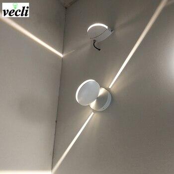Наружный водонепроницаемый 8 Вт светодиодный настенный светильник, настенный светильник с поверхностным креплением, настенный светильник ...