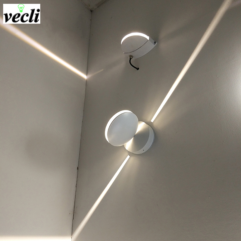 outdoor Waterproof 8w led wall lamp, surface mounted led wall sconce liner wall light Aisle Bedroom Decorative Lighting 85-265V ac 85 265v 8w cloud led wall lamp acrylic sconce mounted light for home interior lighting