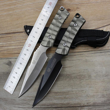 Jeslon Fixed Blade Knife Straight Knives Boutique Essential Tactical Knife Camping Outdoor Survival Knife Utility Pocket Tools