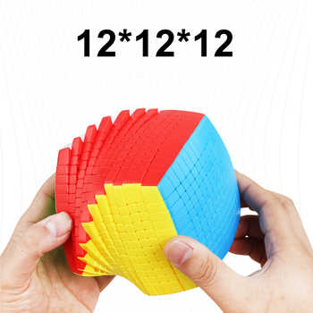 Newest Top SHENGSHOU 12 Layers 100mm Stickerless 12x12x12 Magic Cube Speed Puzzle 12x12 Cube Educational Toys Gift cubo magico - DISCOUNT ITEM  24% OFF All Category