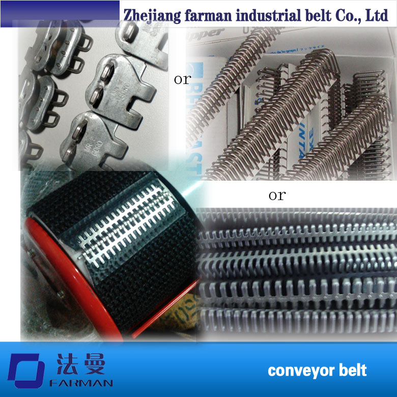 Industrial Import steel buckle conveyor belt /pvc/pu conveyor belt