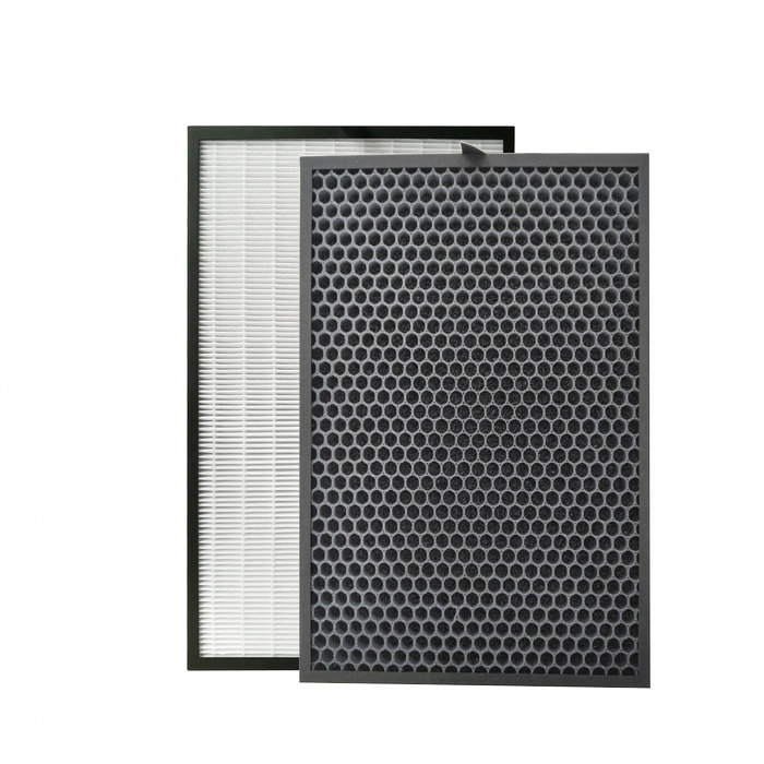 390x285mm Air purifier filter hepa In addition to formaldehyde for replacement Sharp FU A80A FU A80A