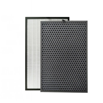 390x285mm Air purifier filter hepa  In addition to formaldehyde for replacement Sharp FU-A80A FU-A80A-W  Air purifier parts