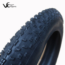 Snowmobile bicycle tire 26er 26*4.0 snow mobile tyre cruiser beach bike fat tires ultralight 1580g high quality rubber durable(China)