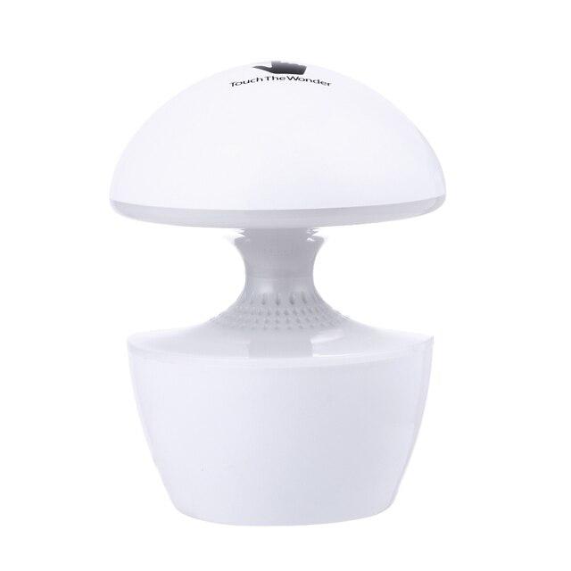 5 W 5 V Mini mushroom forma Caixa de Som do Altifalante de Carregamento USB Luz Da Noite LEVOU Caixa de Luz Da Lâmpada de Cabeceira 3 cor Ajustável
