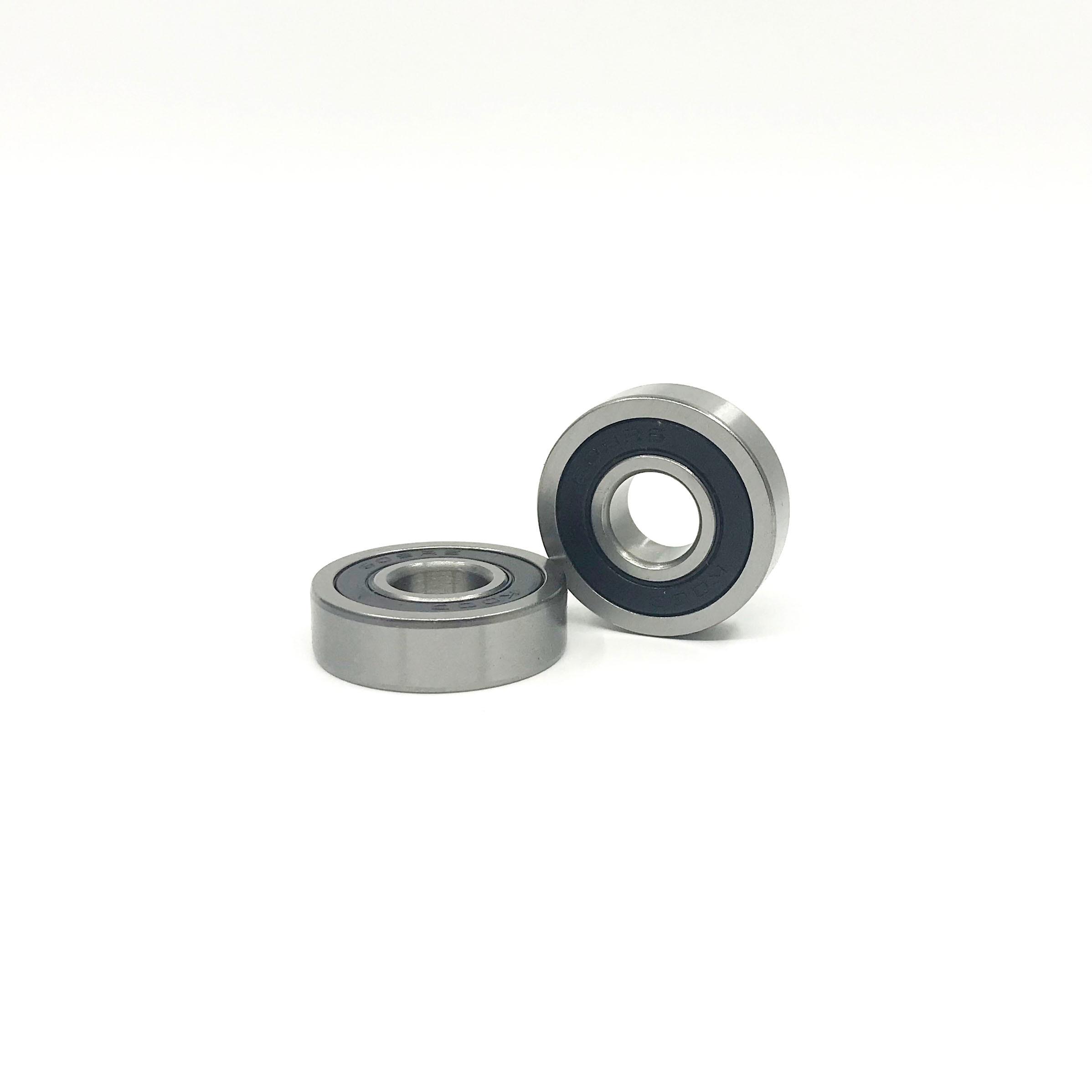 609RS 9x24x7 mm BLACK Rubber Sealed Ball Bearings Set 4 PCS 609-2RS