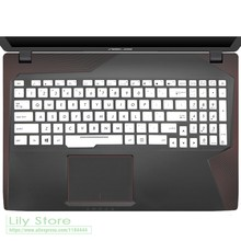 Laptop Notebook keyboard cover protector for Asus ROG Strix FZ53V GL553VW GL553V ZX53V FX553VD FX553VE FX553 FX53VD 15.6-inch(China)