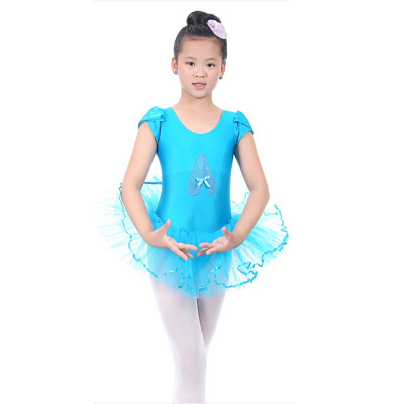 2019 Child Girls Ballet Dancewear Dress Dance Skirt Tutu Dress Leotard Dancewear Hot