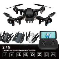 Drones with Camera HD Smart Follow Me Drohne One Key Return Quadcopter Toys Dual Camera Wide Angle Switching Quadrocopter