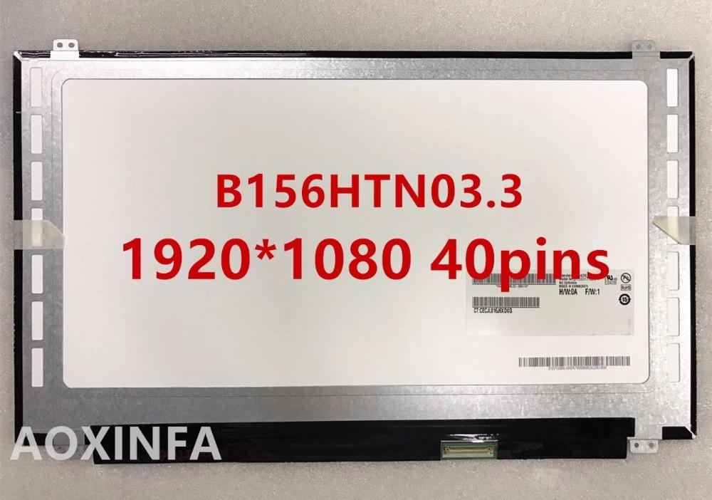 Free shipping 15 6LED B156HTN03 3 B156HW03 N156HGE LA1 N156HGE LB1 B156HTN02 B156HTN03 2 LED Display