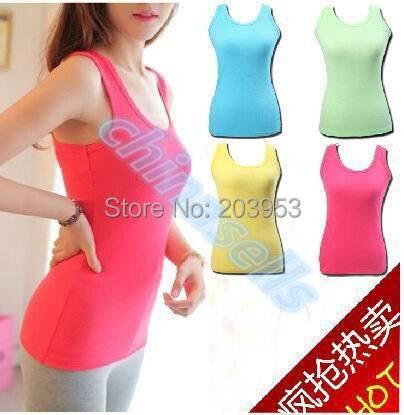 fddc67bb3 متعدد الألوان الإناث عزى حزام تمتد الصدرية مثير المرأة تانك القمم أكمام  القميص اللياقة الرياضية تشغيل الصدرية الكبس قميص