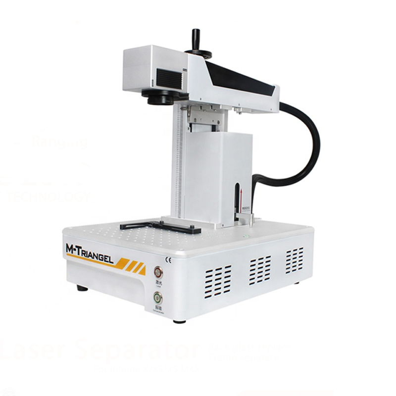 G Um Separando Máquina A Laser Laser De Fibra Máquina de Reparo LCD Para iPhoneX XS Max 8 8 + Back Removedor De Vidro máquina de Corte De moldura
