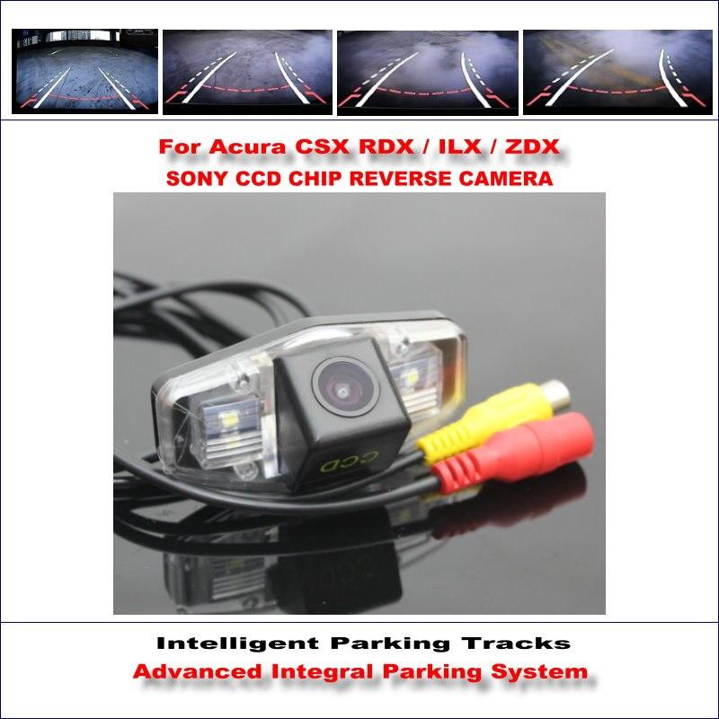 COLOR CCD SENSOR CAR REAR VIEW BACK UP CAMERA FOR HONDA ACURA CL EL CSX RDX ILX