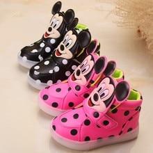 2017 Moda Europeia Colorido Iluminado crianças sapatos casuais vendas quentes frescos botas de alta qualidade crianças meninas meninos sapatilhas do bebê