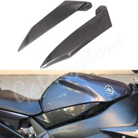 Carbon Fiber Tank Side Covers Panel Fairing for Yamaha YZF R1 2002 2003 02 03 Motorcycle Side Lining