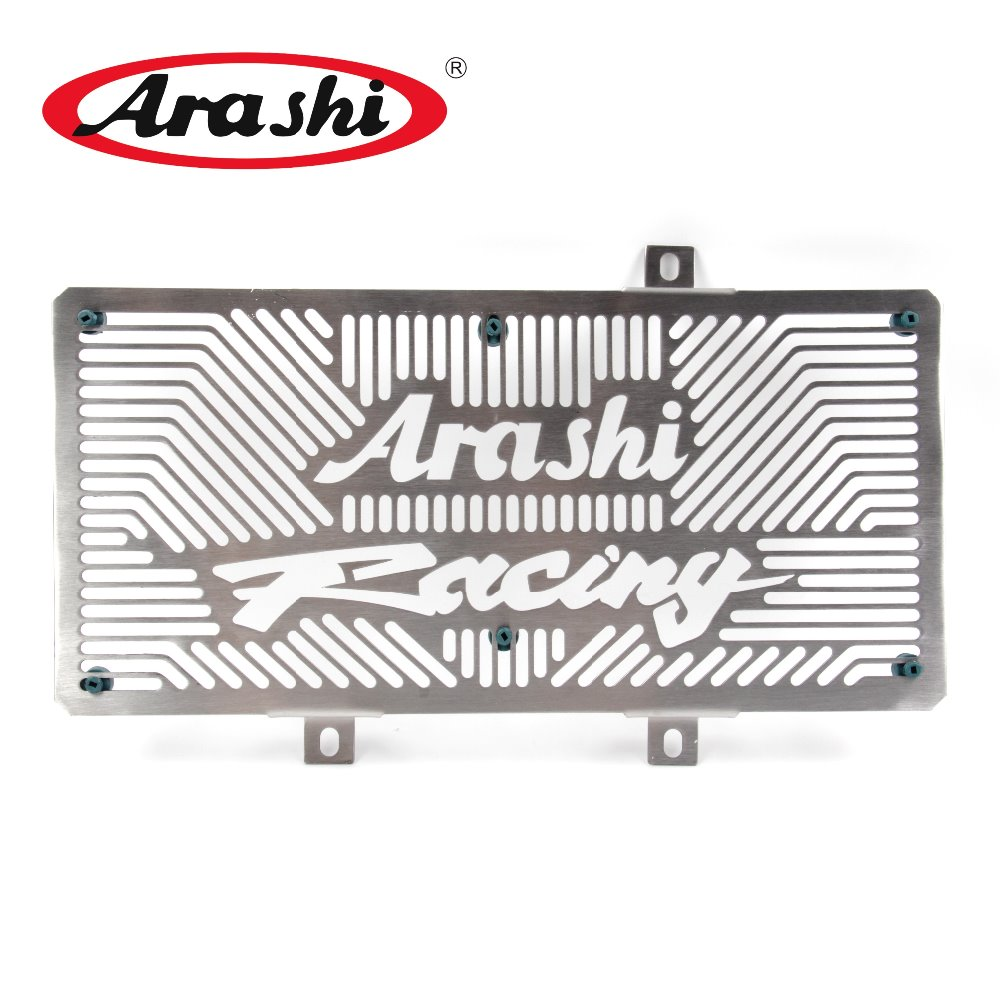 Arashi Stainless ER6N Radiator Grille Cover Case Protective Shield Protector For KAWASAKI ER 6N 2006 2007 2008 2009 2010 2011 motorcycle radiator protective cover grill guard grille protector for kawasaki z750 z1000 2007 2008 2009 2010 2011 2012 2016