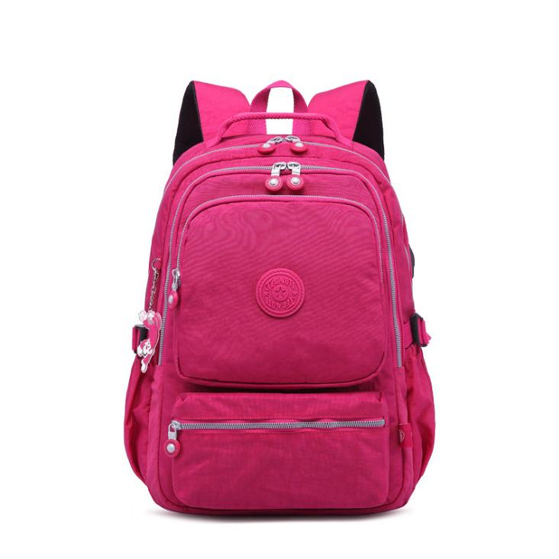 New Women Original Kipled Mochila Mujer Escolar Feminina Backpack School Bag For Teenager Girl Nylon Waterproof Backpacks Female
