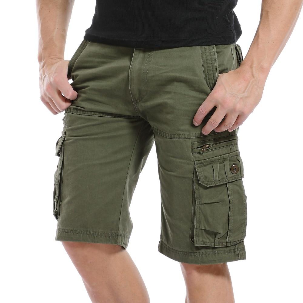 Novo modno oblikovanje moške kratke hlače iz bombaža bombažna - Moška oblačila
