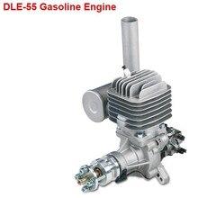 Original New DLE55 55cc gasoline engine ( Rear Carb ) Gasoline Engine for RC Airplane