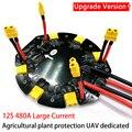 12 S 480A Großen Strom Power Verteilung bord Modul PDB für Landwirtschaft Anlage Schutz Drone Quadrocopter hexacopter UAV|Drohne-Zubehör-Kits|Verbraucherelektronik -