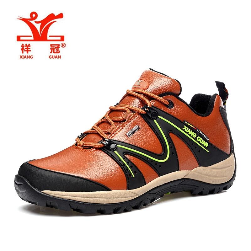 outdoor sport hiking shoes men hunting trekking waterproof genuine leather outventure trail senderismo font b sneakers
